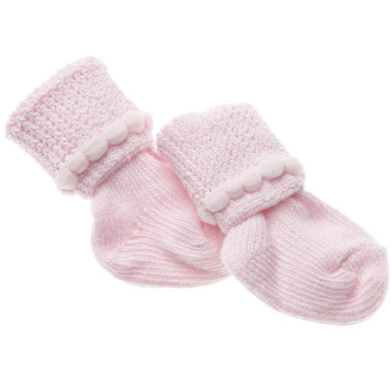 Infant Girls Booties MDT211433P by Medline