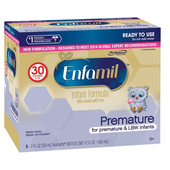 Enfamil Premature 30 Cal Ready to Use Infant Formula 2oz - Shop All PF94480 by Mead Johnson Nutritional Group