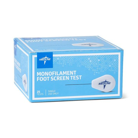 Medline Monofilament Diabetic Foot Screen Test 25 Count MSC0002 by Medline