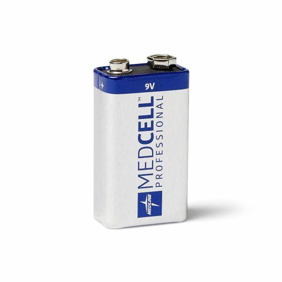 MedCell Professional Alkaline Battery 9V 12Ct MPHB9VZ by Medline