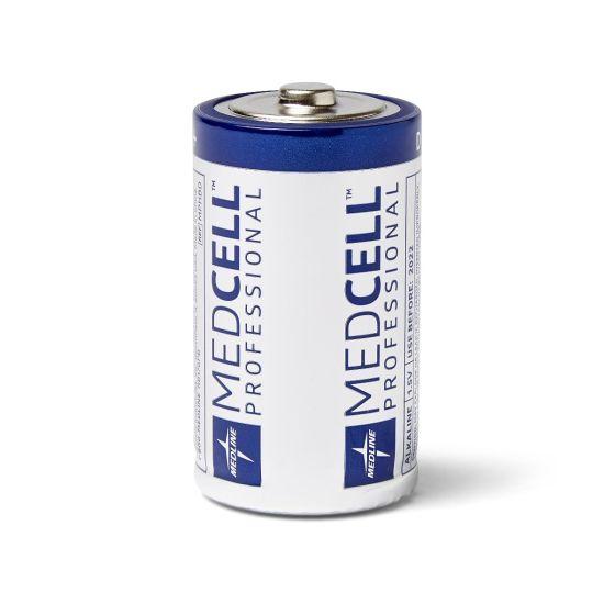 MedCell Professional Alkaline Battery 1.5V D 12Ct MPHBDZ by Medline