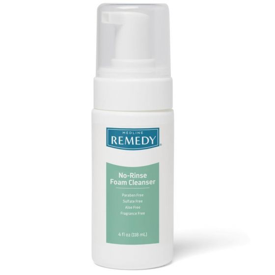 Remedy No-Rinse Cleansing Foam 4oz 1Ct MSC09104H by Remedy