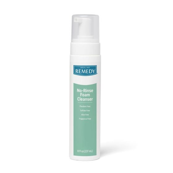 Remedy No-Rinse Cleansing Foam 8oz 1Ct MSC09108H by Medline