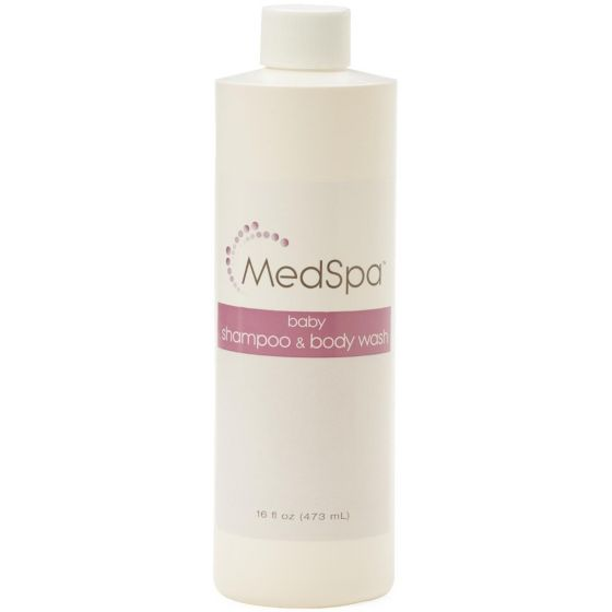 Medline MedSpa Baby Shampoo / Body Wash 16oz 1Ct MSC095024H by Medline