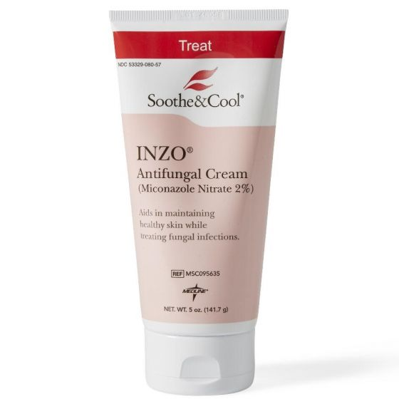 Medline Soothe&Cool Inzo Antifungal Cream 5oz 12Ct MSC095635 by Medline
