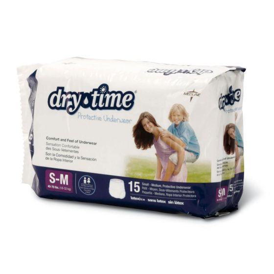 DryTime Disposable Protective Youth Underwear MSC23001AH by Medline