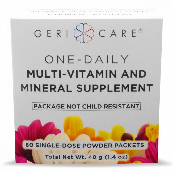 GeriCare Powder Multivitamin Mineral Supplement 80Ct OTC535086 by GeriCare