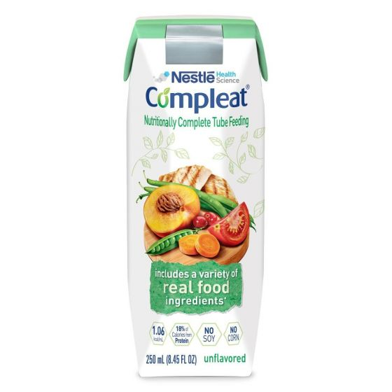 Nestle Compleat Tube Feeding Formula, 250 mL DOY140100H by Medline