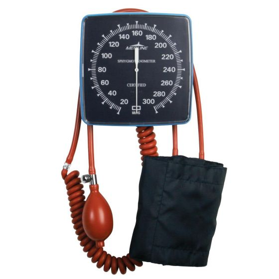 Non-Latex Wall Mount Aneroid Blood Pressure Monitor