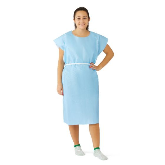 Disposable X-Ray Patient Gown 50Ct NON24354 by Medline
