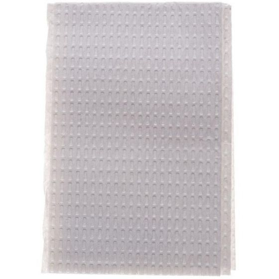 Medline 2ply Tissue/Poly Towel 13x18 500 Count NON24357W by Medline