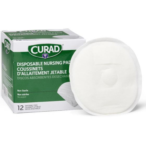 CURAD Disposable Nursing Pad with Adhesive - Shop All PF06601 by Medline