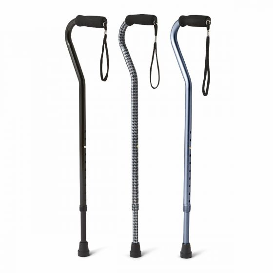 Offset Handle Fashion Cane