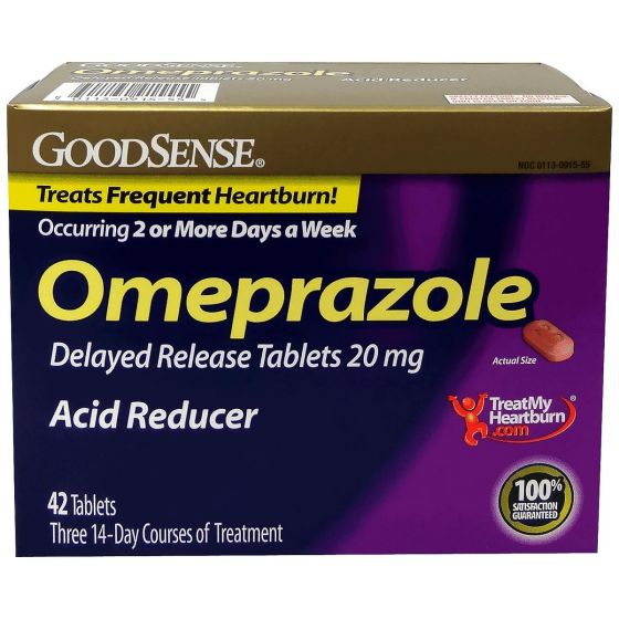 Omeprazole Delayed Release Oral OTC091503 by Medline