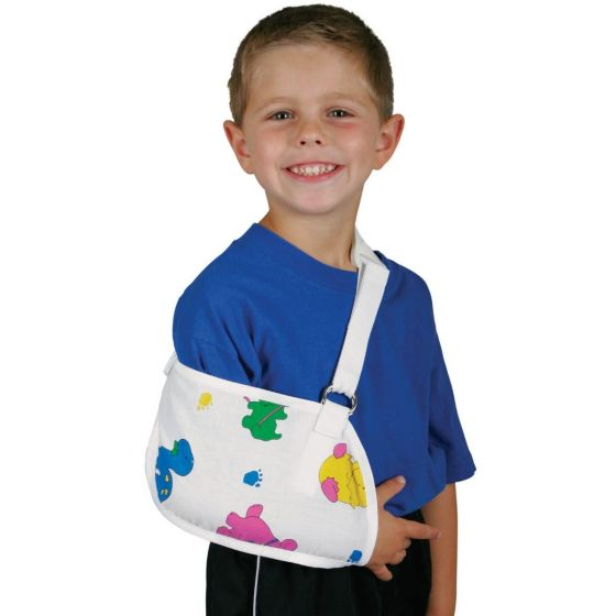CURAD Arm Sling with Pediatric Print - Shop All PF03224 by Medline