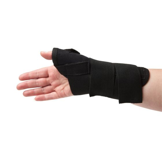 CURAD Universal Thumb Brace with Adjustable Straps ORT18220 by CURAD
