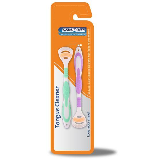Tongue Scraper With Brush OTC005063 by Medline