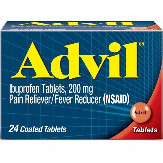 Advil Iboprofen Pain Reliever 200 mg OTC015020 by