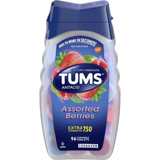 TUMS Extra Strength Antacid Heartburn Relief OTC738896 by Tums