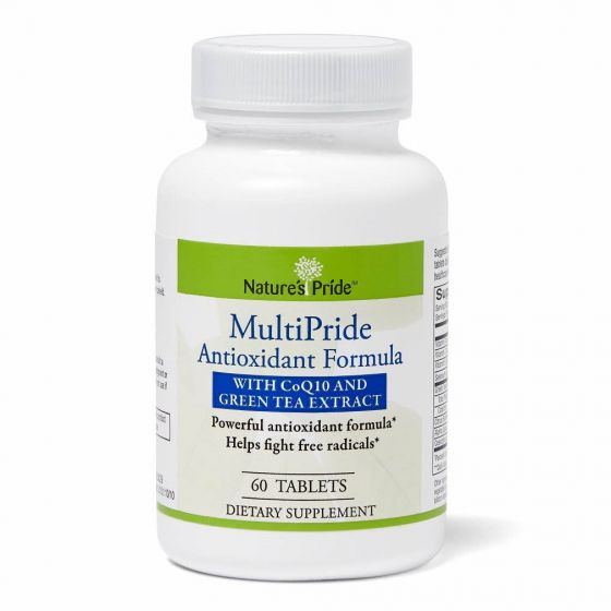 Nature's Pride Antioxidant Tablets with Green Tea 60Ct OTC805005 by Medline