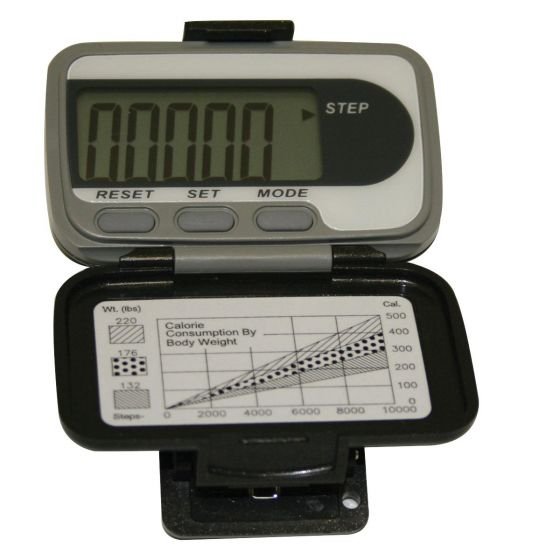 EKHO Deluxe Digital Pedometer with Calories Burned