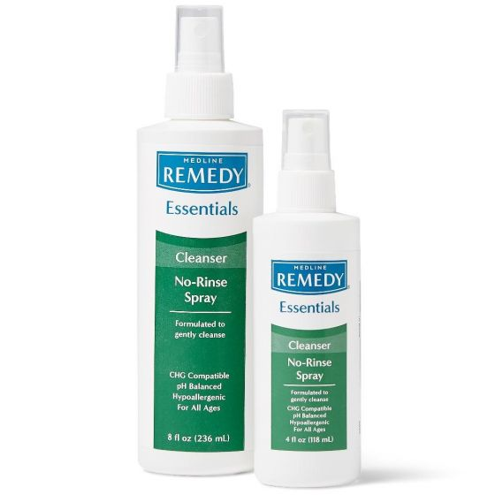 Remedy Essentials No-Rinse Spray Cleanser - Shop all PF32158 by Medline