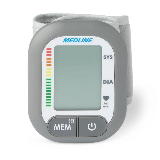 Medline Plus Digital Wrist Blood Pressure Monitor MDS4003 by Medline