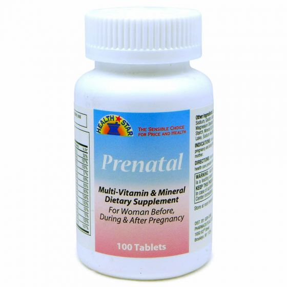 Prenatal Multivitamin and Mineral Tablets OTC057501 by Medline