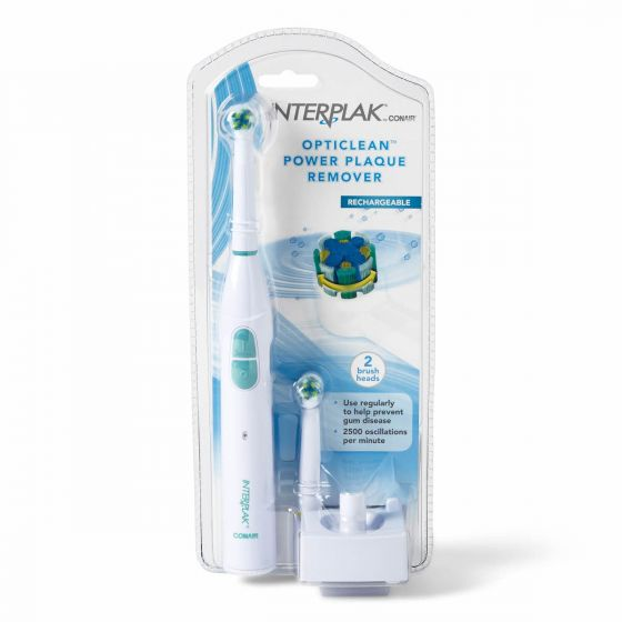 InterPlak by Conair Rechargeable Cordless Toothbrush
