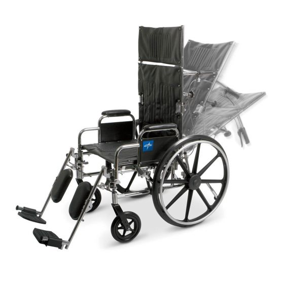 Reclining Wheelchairs MDS808550 by Medline