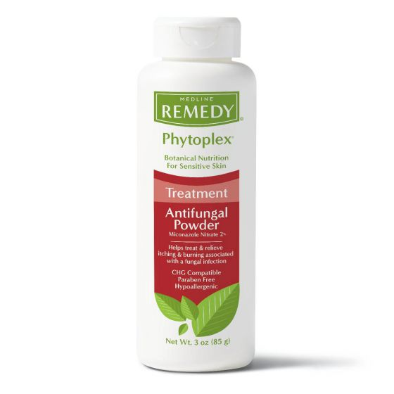 Remedy Phytoplex Antifungal Powder with Miconazole Nitrate, 3oz MSC092603H by Medline