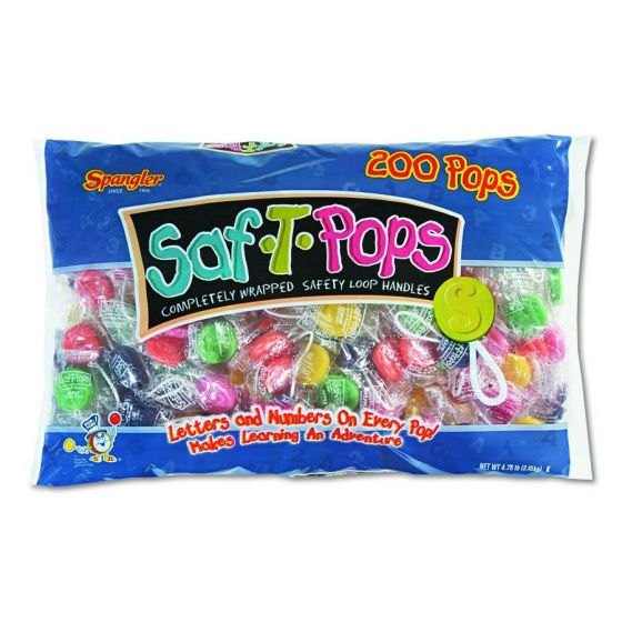 Saf-T-Pop Lollipops