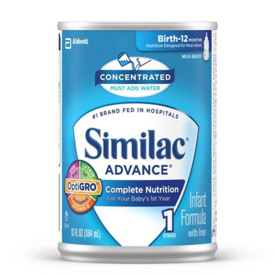 Similac Advance Concentrate Infant Formula 1 Stage 13oz 1Ct R-L56973H by Similac