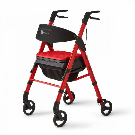 Momentum Rollator, Red MDS86870R by Medline