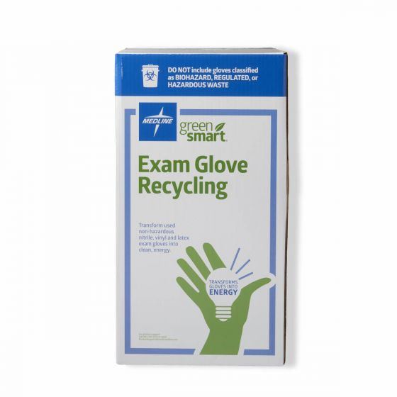 GreenSmart Exam Glove Recycling Box, Size S RECBOXS by Medline