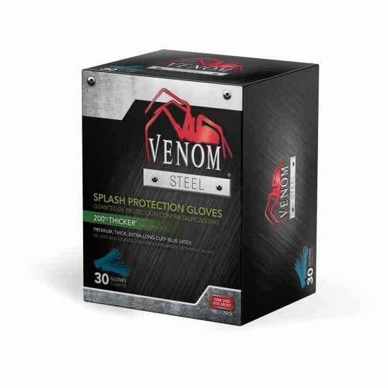 Venom Steel Latex Splash Protection Gloves - Shop All PF139871 by Medline