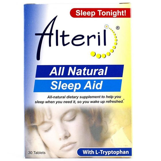 Alteril Sleep Aid Tablets with L-Tryptophan 30 Count OTC001364 by Biotab Nutraceuticals