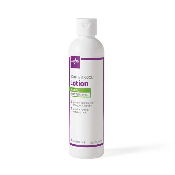 Medline Soothe & Cool Herbal Moisturizing Body Lotion