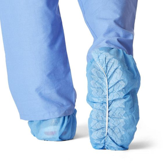 Spunbond Polypropylene Non-Skid Shoe Covers