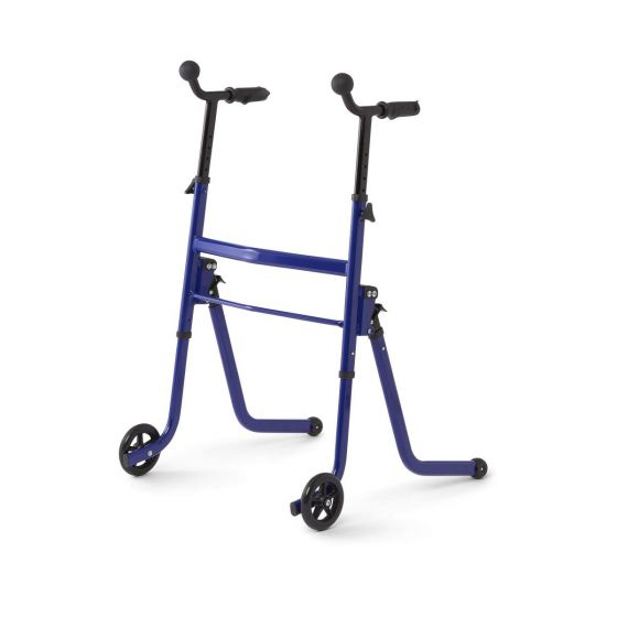 Medline Stand-and-Go Walker 250lb Capacity Blue MDS86410SGB by Medline