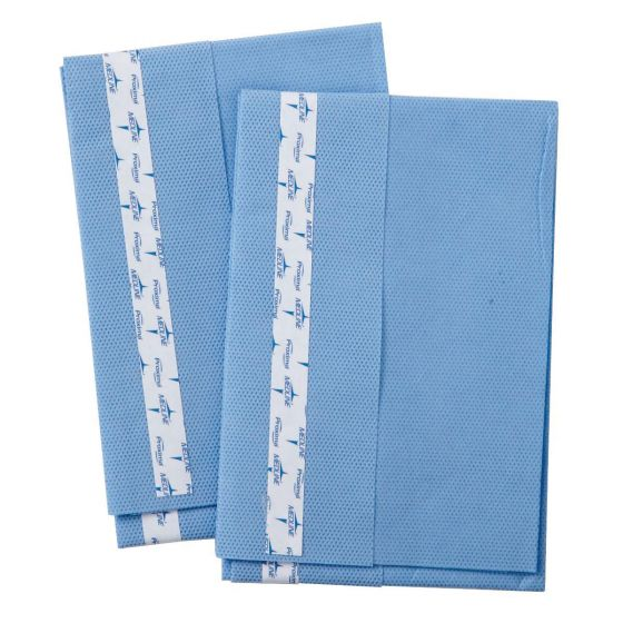 "Sterile Surgical Utility Drapes with Tape, 15"" x 26"""