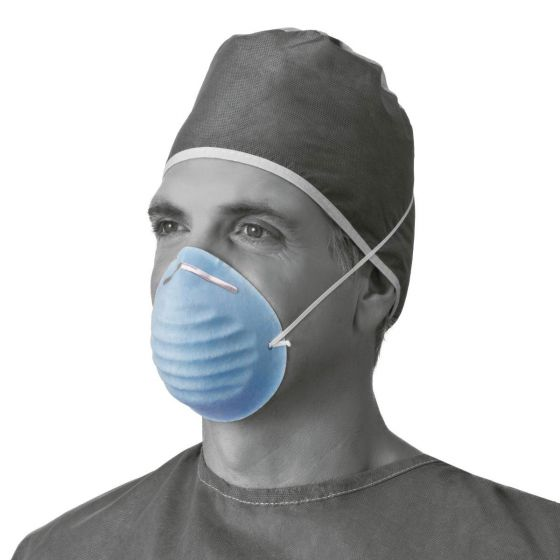 Surgical Cone-Style Face Mask NON27381 by Medline