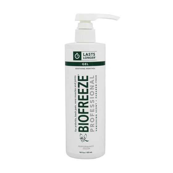 Biofreeze Professional Cold Therapy Pain Relief Gel, 16oz HYD13425H by The Hygenic Corporation