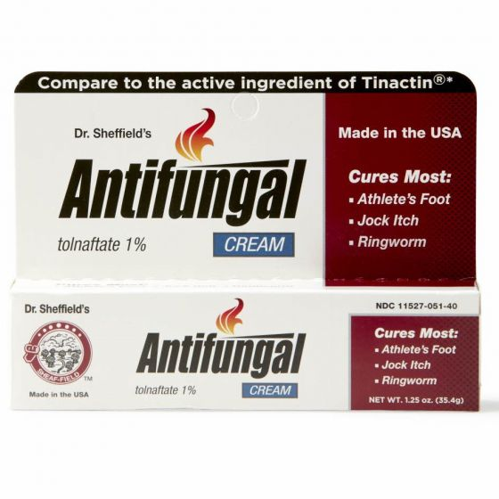 Dr. Sheffield's Antifungal Cream Tolnaftate 1% OTC005140 by Medline