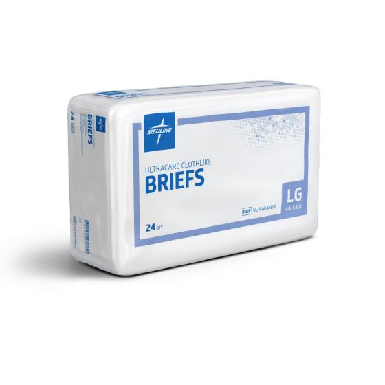 Ultracare Adult Incontinence Briefs PF01421 by Medline