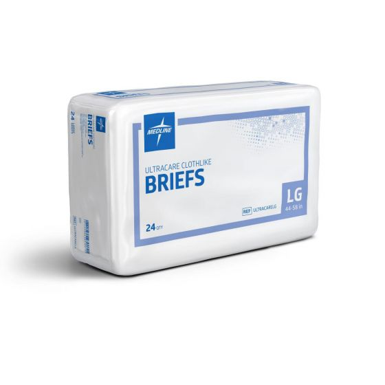 Ultracare Adult Incontinence Briefs ULTRACARELGZ by Medline