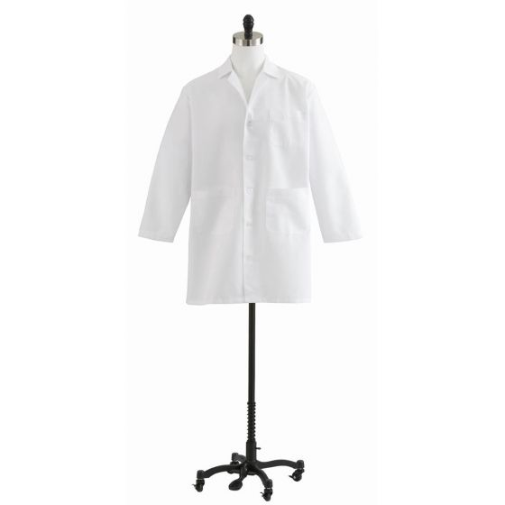 Medline Unisex/Men's Staff-Length Lab Coats - Shop All PF02428 by Medline