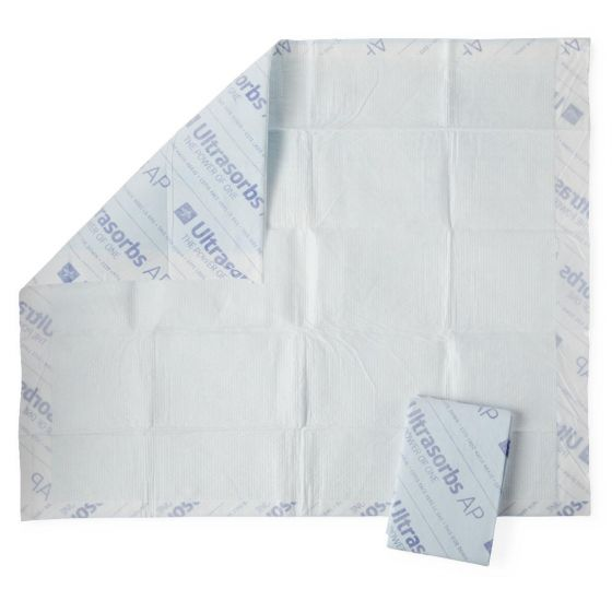 Ultrasorbs Air Permeable Drypad Underpads USAP3136LC1 by Medline