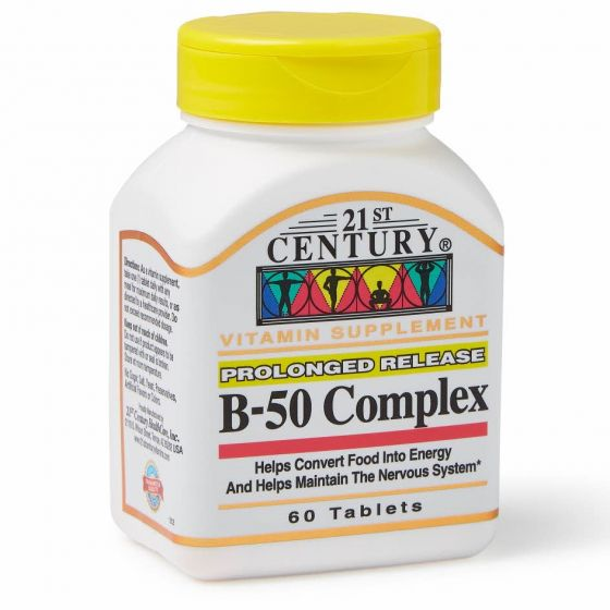 Vitamin B-50 Complex Tablets OTC222515 by Medline