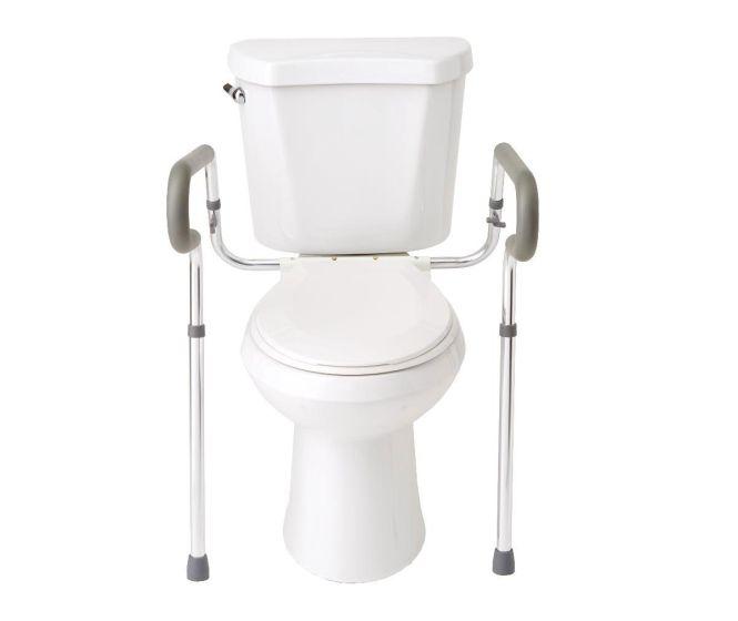 Medline Guardian Toilet Safety Rails G30300-1KD by Medline